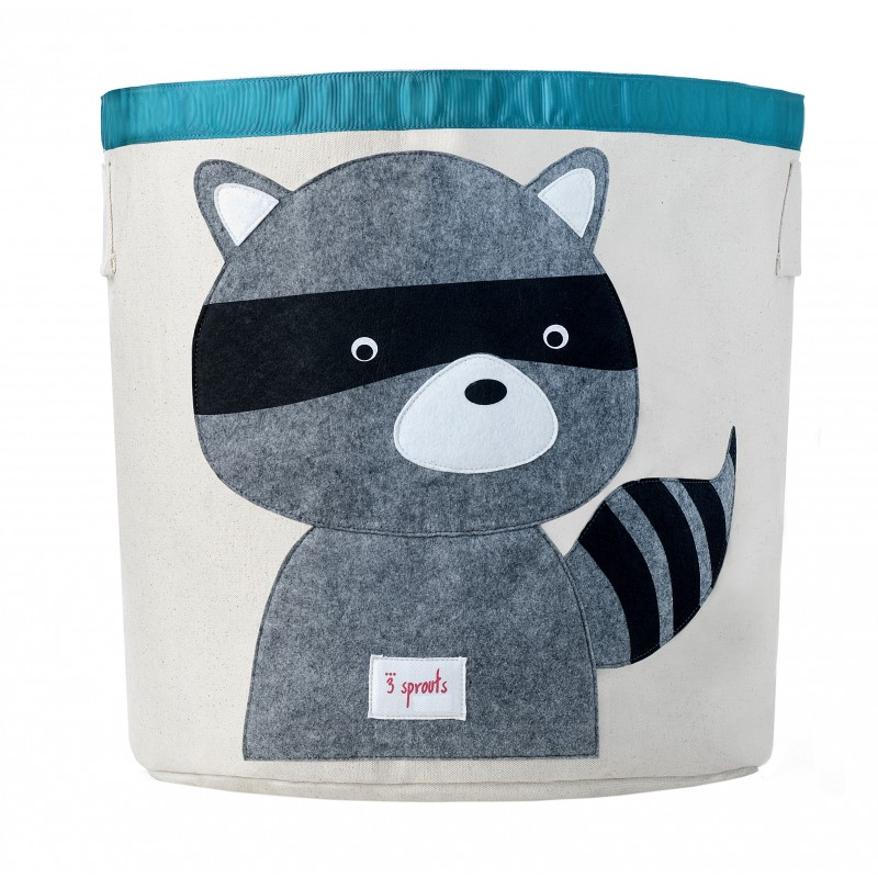 3 Sprouts Racoon Clothing Bin