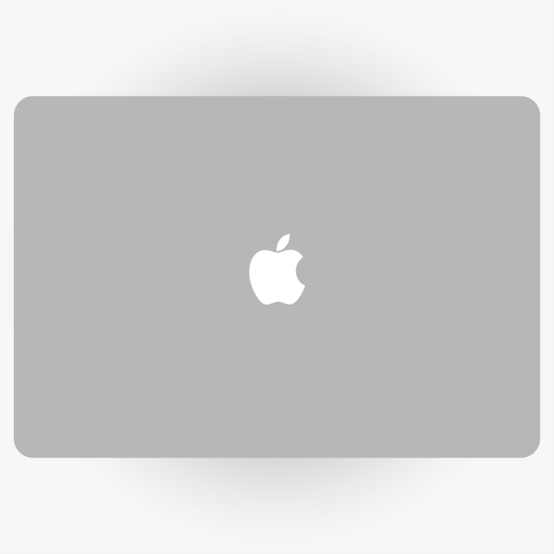 how to turn off the light on macbook apple logo