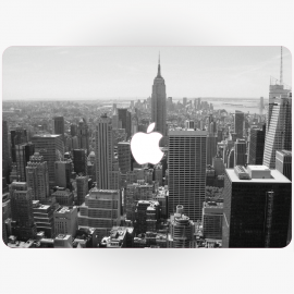 New York Apple MacBook Sticker